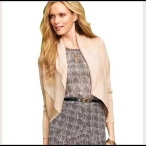 CAbi Patchwork Wool Cardigan 483